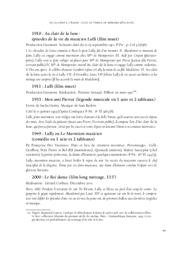 L'invention des genres lyriques français et leur redécouverte au xixe siècle, extrait 14