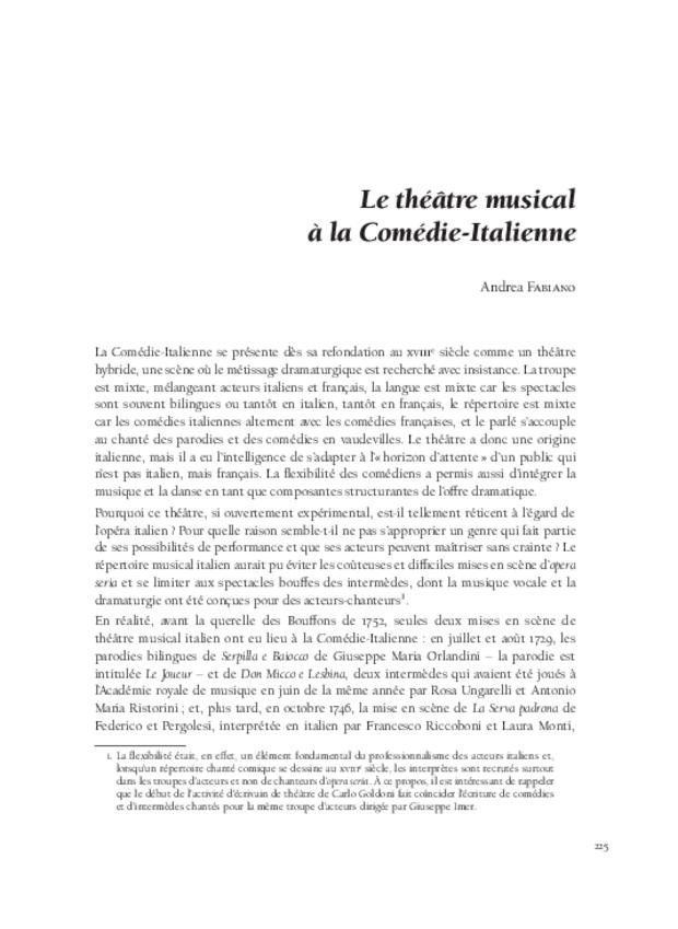 L'invention des genres lyriques français et leur redécouverte au xixe siècle, extrait 9