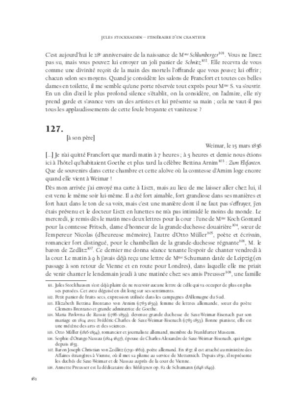 Itinéraire d'un chanteur à travers vingt années de correspondance, 1844-1864, extrait 6