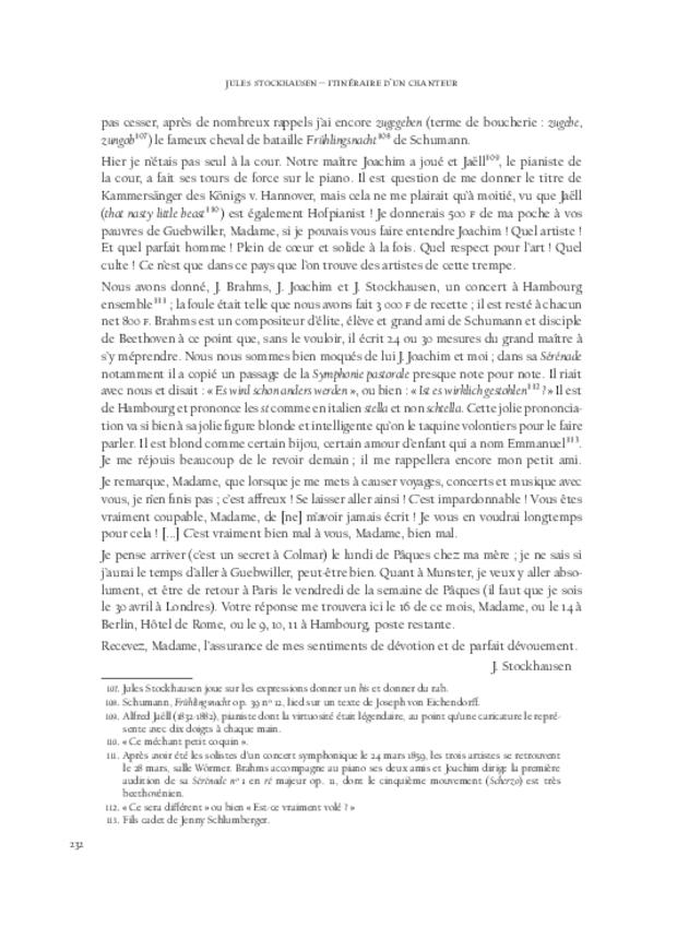Itinéraire d'un chanteur à travers vingt années de correspondance, 1844-1864, extrait 9
