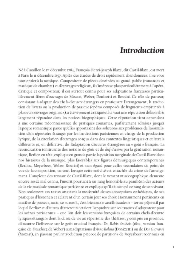 Histoire de l'opéra-comique, extrait 3