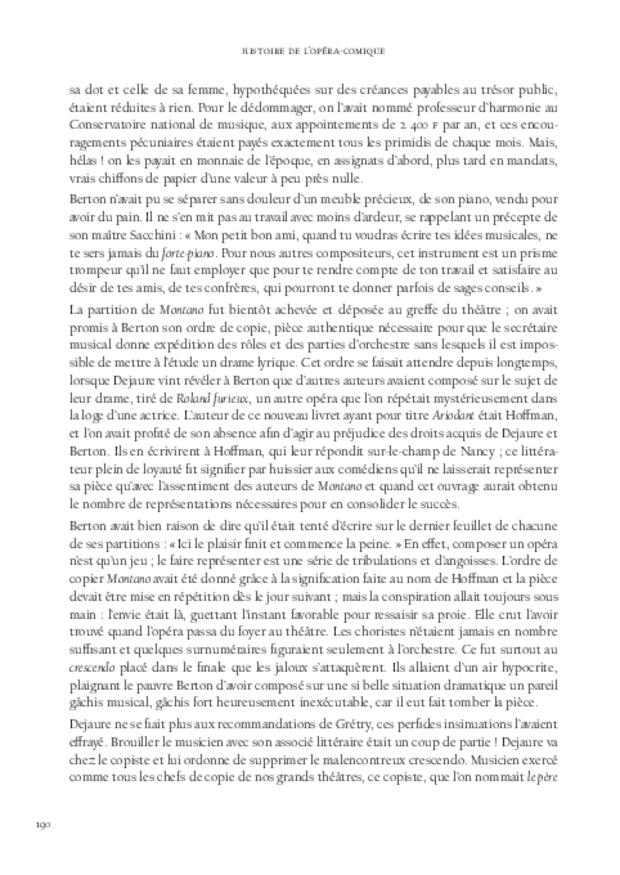 Histoire de l'opéra-comique, extrait 7