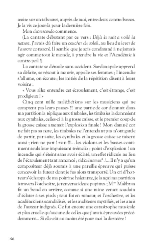 Mémoires, extrait 10