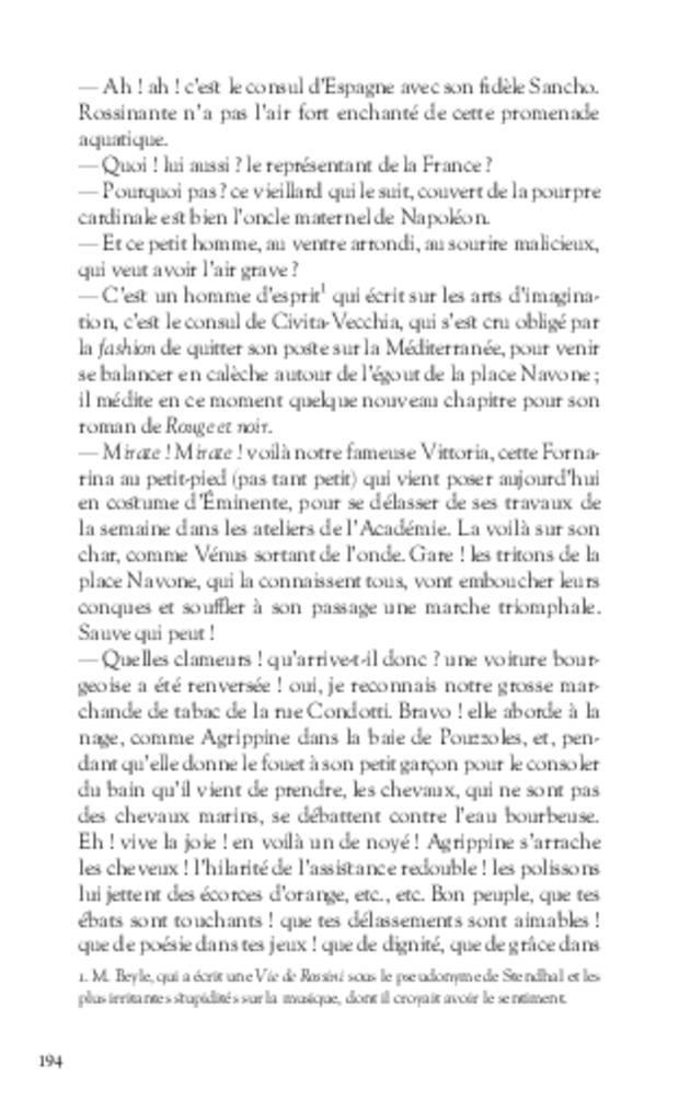 Mémoires, extrait 11