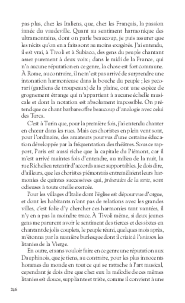 Mémoires, extrait 13