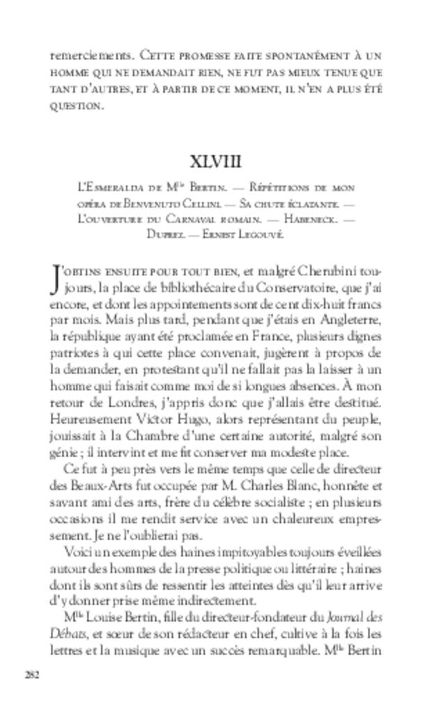 Mémoires, extrait 14