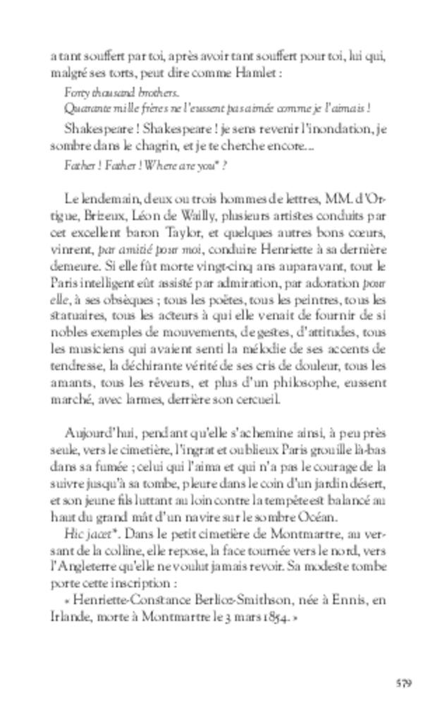 Mémoires, extrait 16