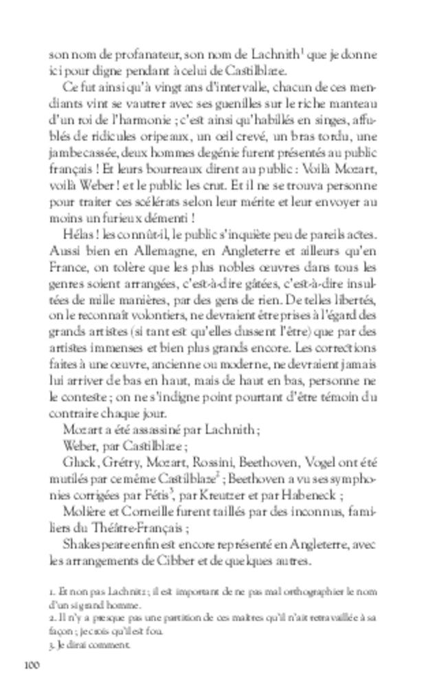 Mémoires, extrait 5