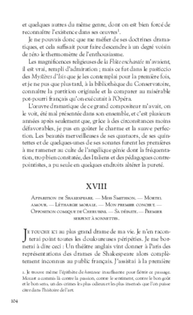 Mémoires, extrait 6