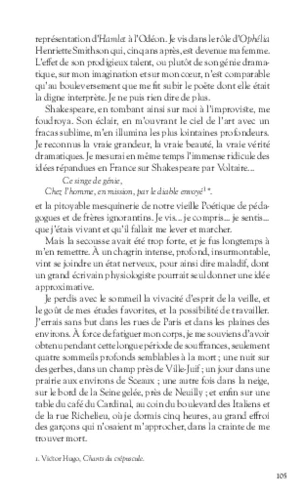 Mémoires, extrait 7