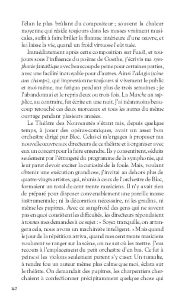 Mémoires, extrait 8