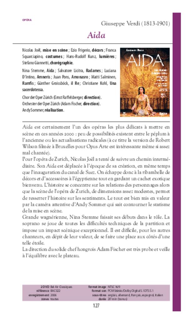 Guide des DVD de musique classique, extrait 5