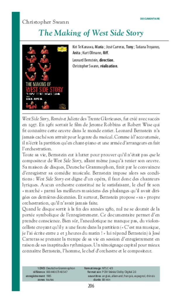 Guide des DVD de musique classique, extrait 9