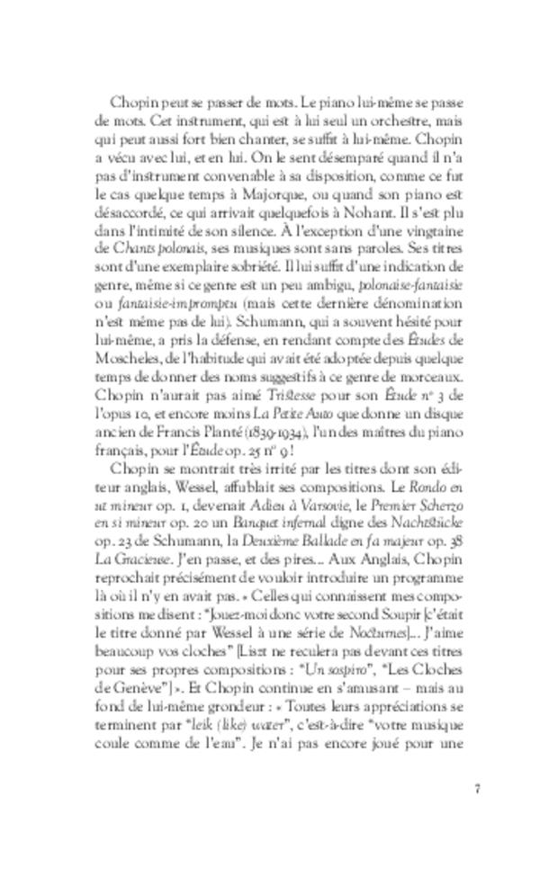 Aimer Chopin, extrait 4