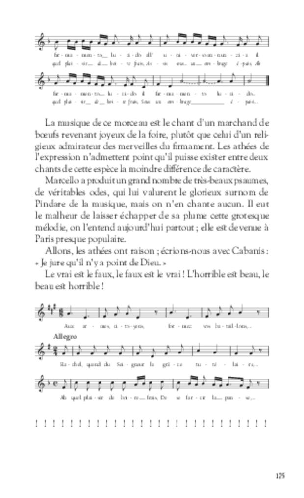 Les Grotesques de la musique, extrait 7