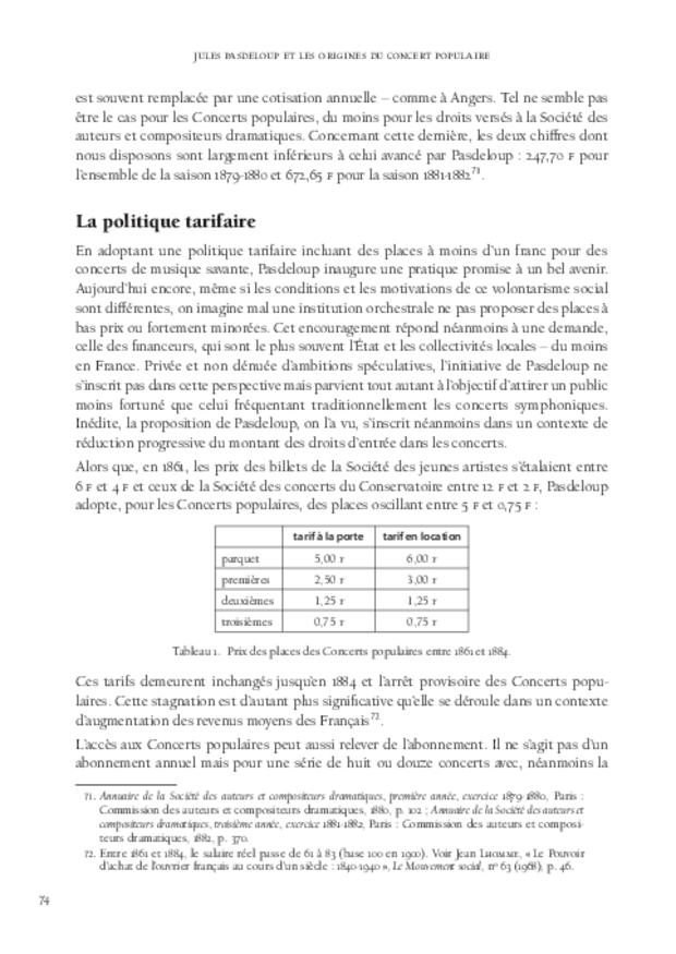 Jules Pasdeloup et les origines du concert populaire, extrait 4