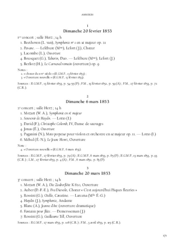 Jules Pasdeloup et les origines du concert populaire, extrait 7
