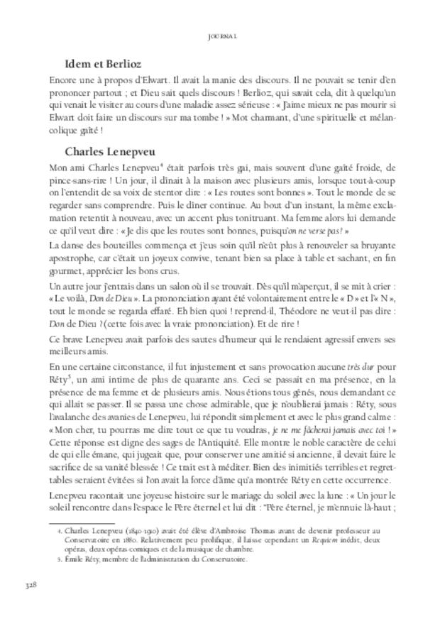 Journal, extrait 10