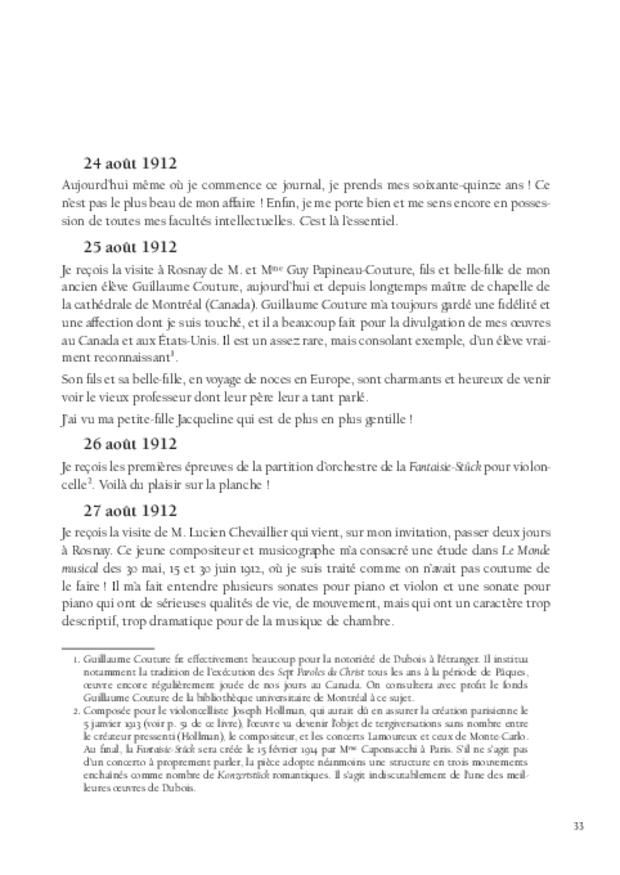 Journal, extrait 5