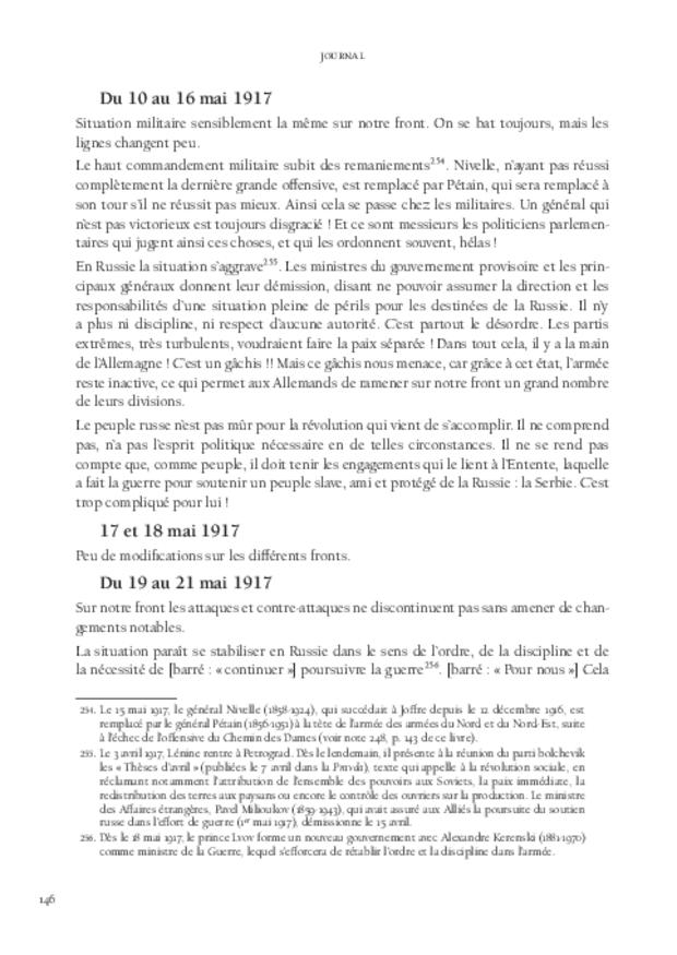 Journal, extrait 7