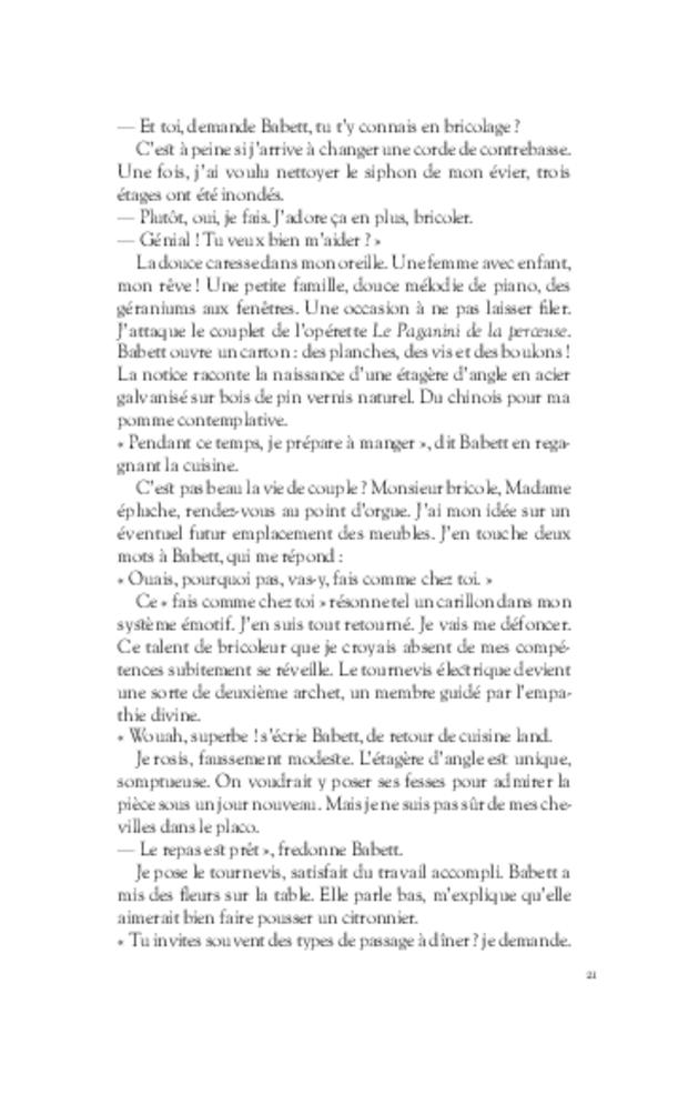 Images d'Épinal, extrait 5