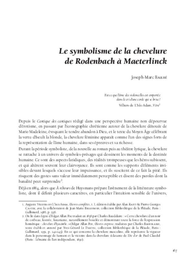 «Pelléas et Mélisande» cent ans après: études et documents, extrait 6
