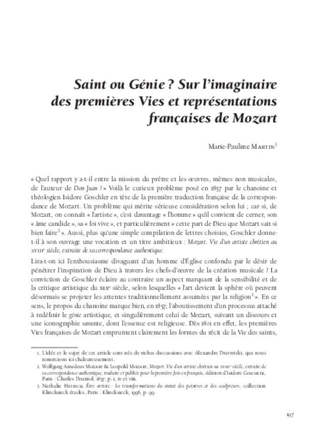 Mozart et la France, extrait 10