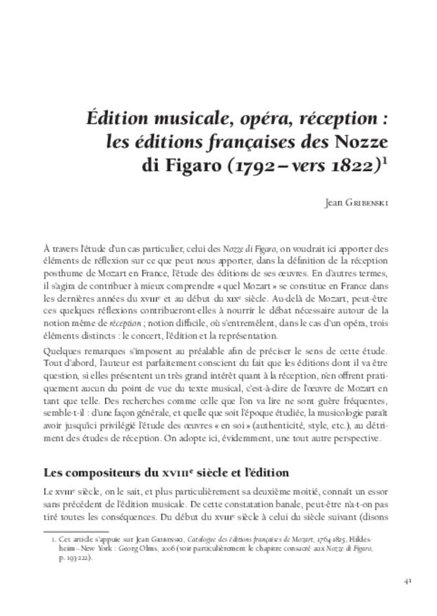 Mozart et la France, extrait 6