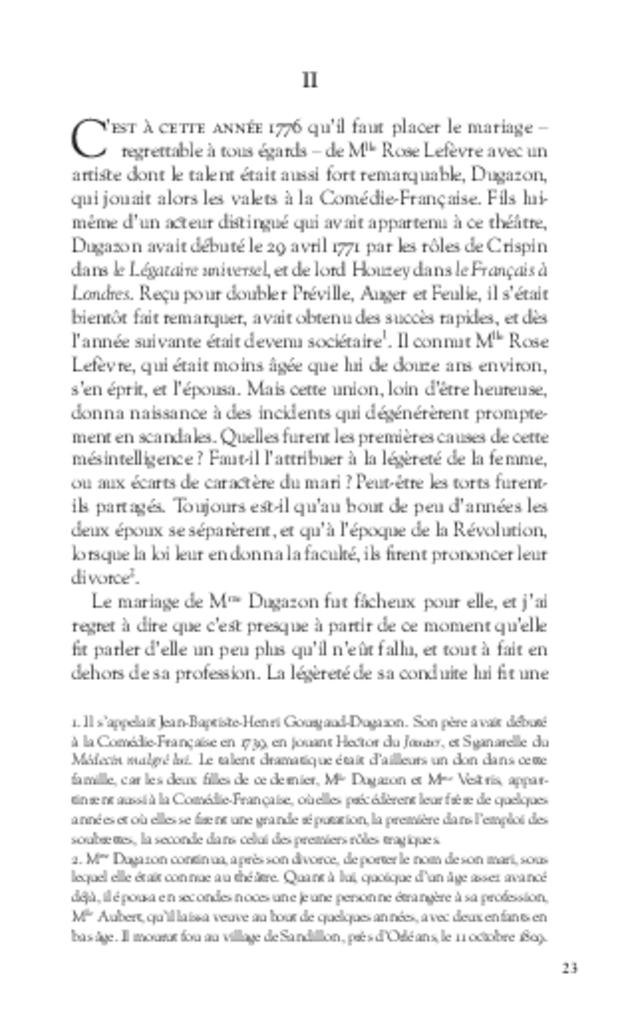 Figures d'opéra-comique, extrait 5