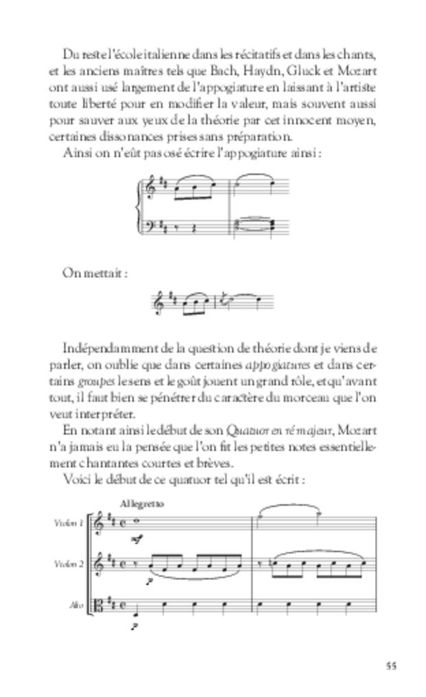 Notes et souvenirs, extrait 5