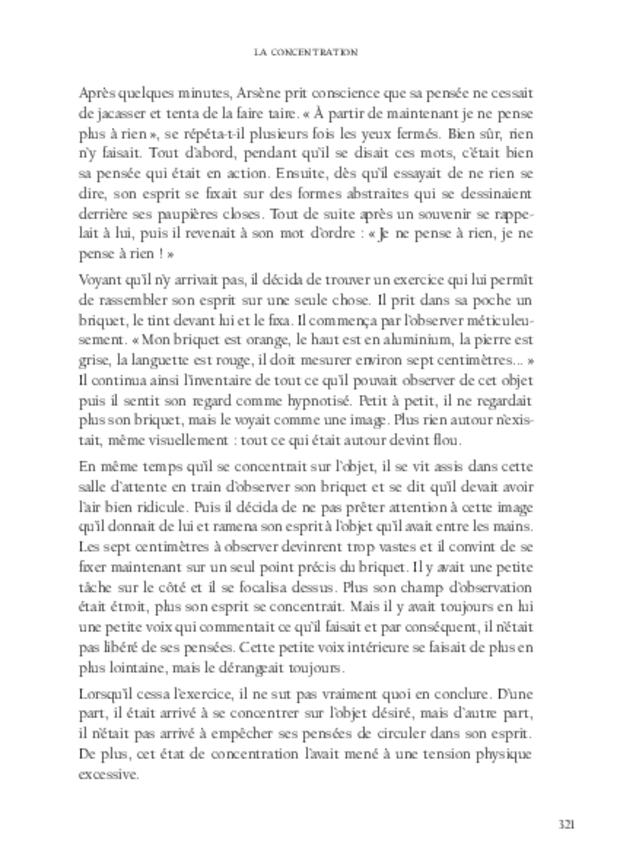 L'Amateur, extrait 8