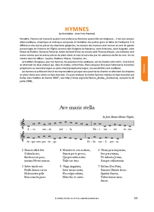 Chanter sur le livre, extrait 11