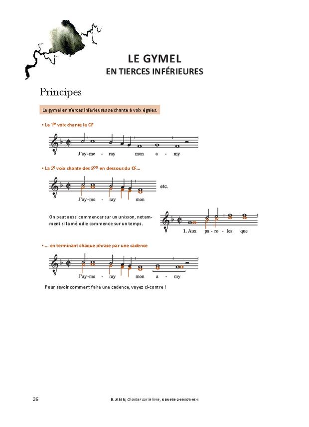 Chanter sur le livre, extrait 9