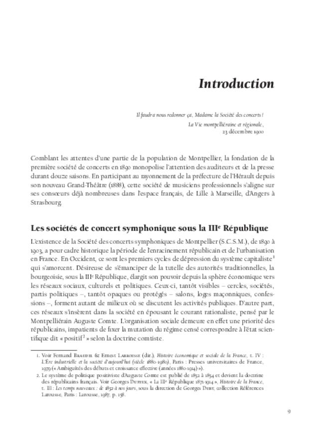 Inventer le concert public à Montpellier, extrait 4