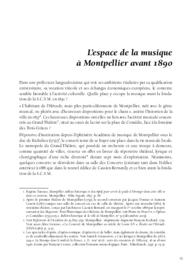 Inventer le concert public à Montpellier, extrait 5