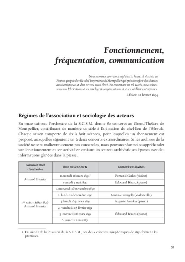 Inventer le concert public à Montpellier, extrait 7