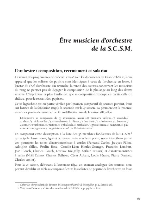 Inventer le concert public à Montpellier, extrait 8