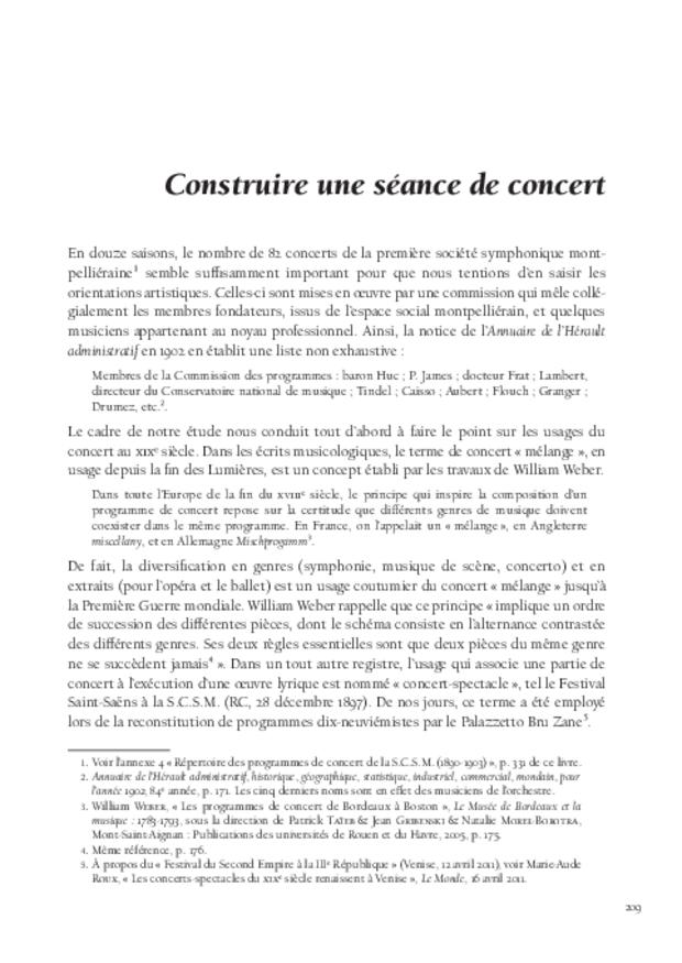 Inventer le concert public à Montpellier, extrait 9