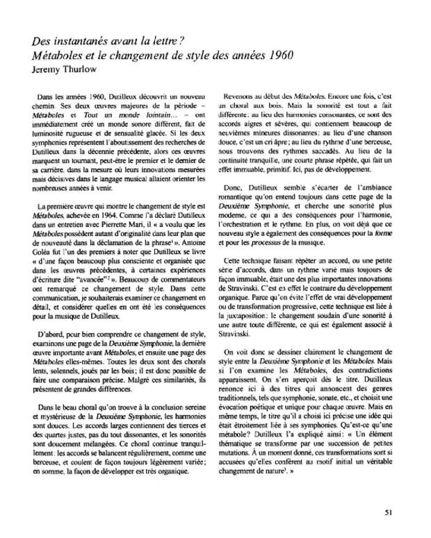 Henri Dutilleux, entre le cristal et la nuée, extrait 5
