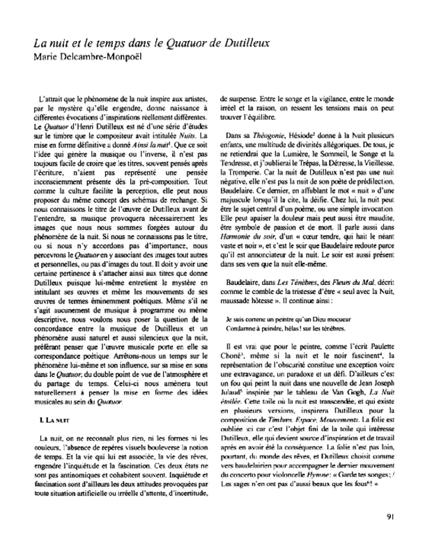 Henri Dutilleux, entre le cristal et la nuée, extrait 8