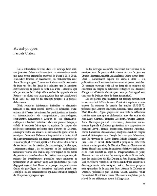 Gilles Deleuze, extrait 3