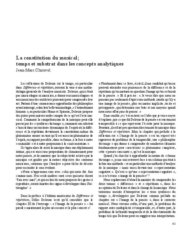 Gilles Deleuze, extrait 7