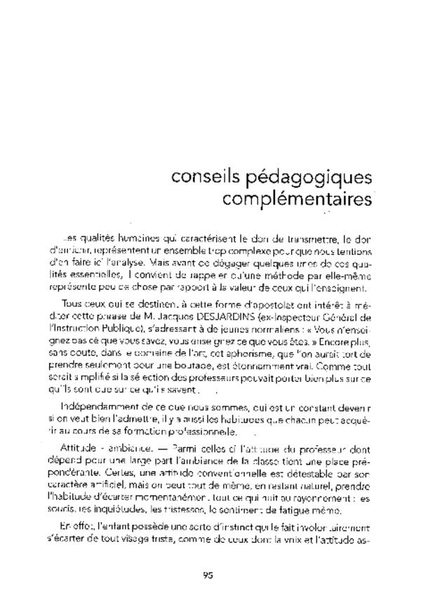 Principes fondamentaux de formation musicale et leur application, extrait 2