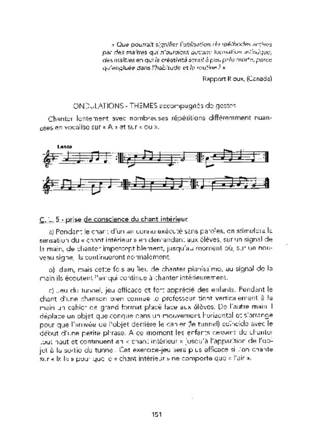 Principes fondamentaux de formation musicale et leur application, extrait 3