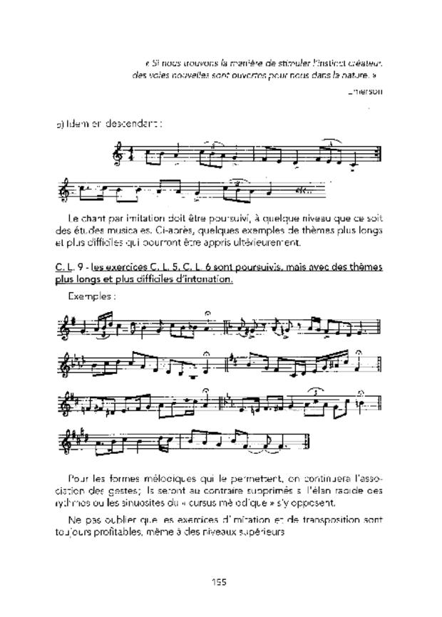 Principes fondamentaux de formation musicale et leur application, extrait 4