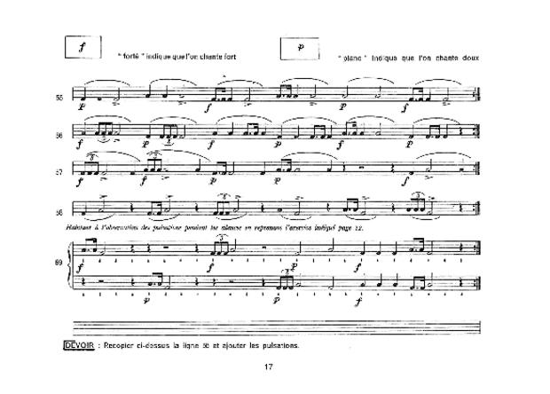 Méthode Martenot, extrait 3