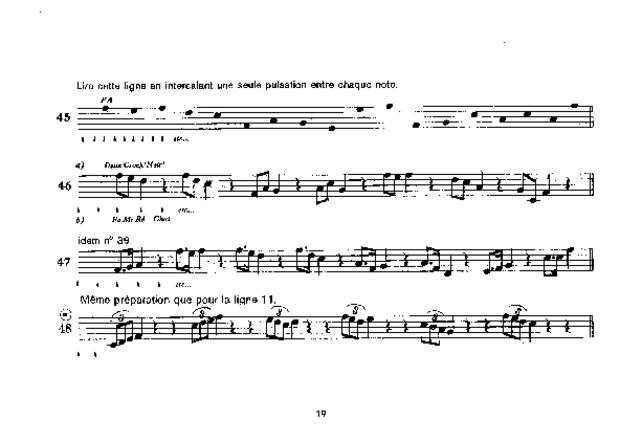 La Course aux notes, extrait 3