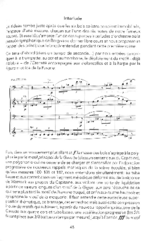 Wozzeck ou l'opéra révélé, extrait 3