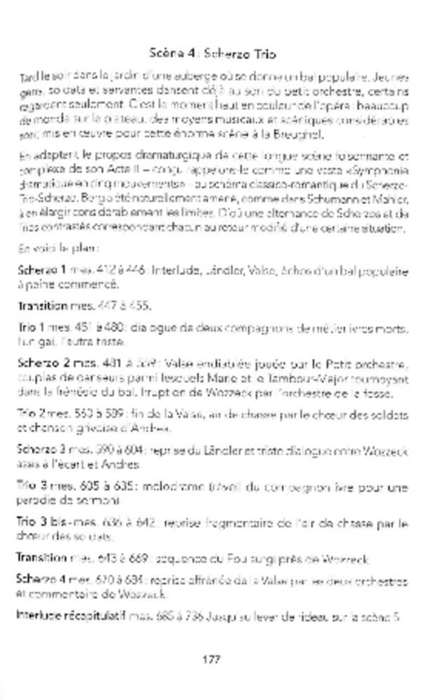 Wozzeck ou l'opéra révélé, extrait 5