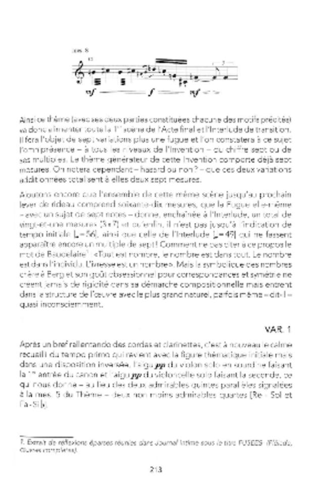 Wozzeck ou l'opéra révélé, extrait 6
